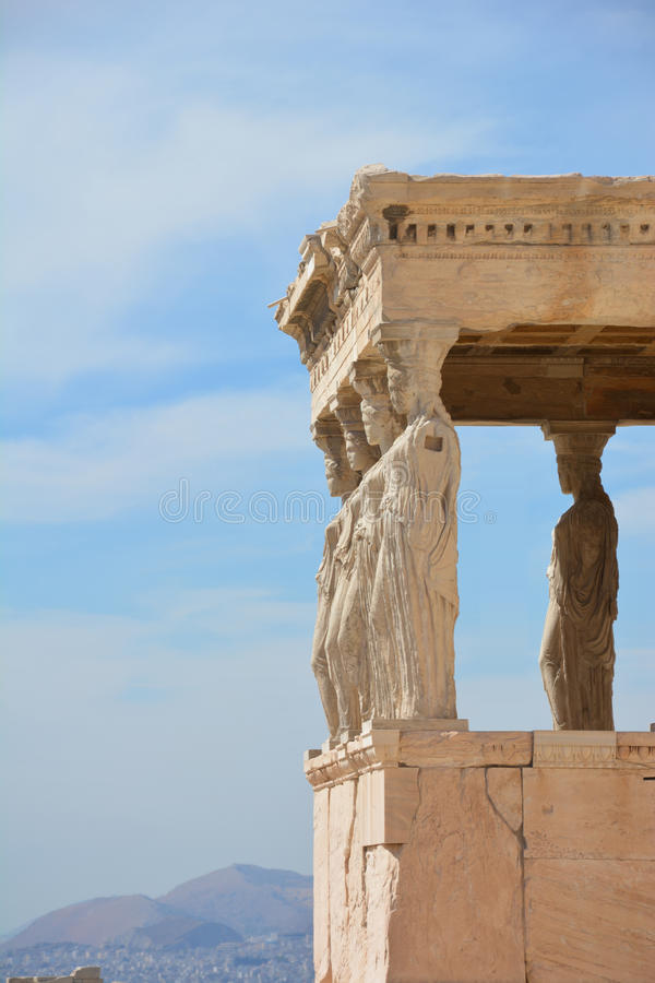 Tempel von Athene lizenzfreie stockfotos