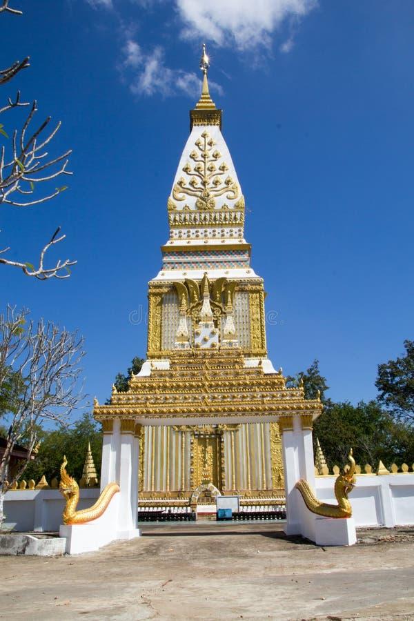 Tempel von Buddhismus in Laos stockbild