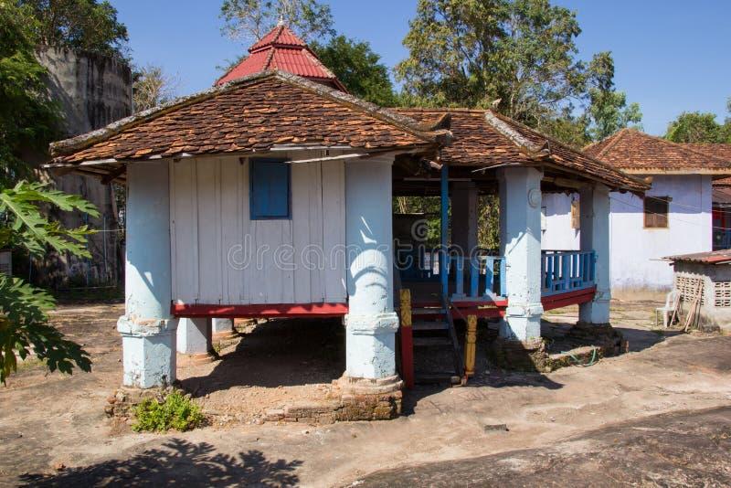 Tempel von Buddhismus in Laos stockfotografie