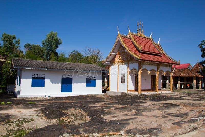 Tempel von Buddhismus in Laos stockfoto