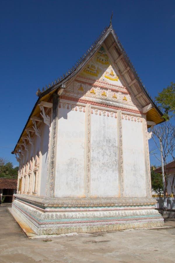 Tempel von Buddhismus in Laos stockbilder