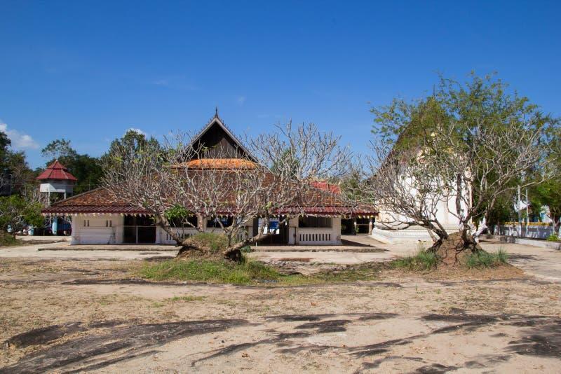 Tempel von Buddhismus in Laos lizenzfreie stockfotos