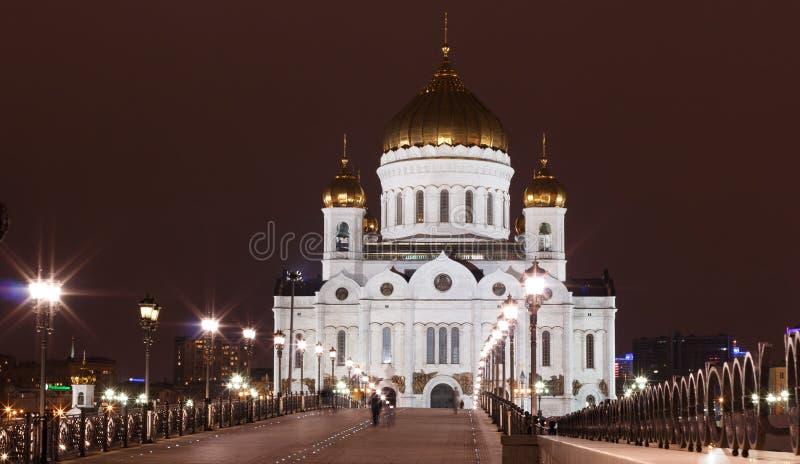 Tempel von Christ der Retter in Moskau lizenzfreies stockfoto