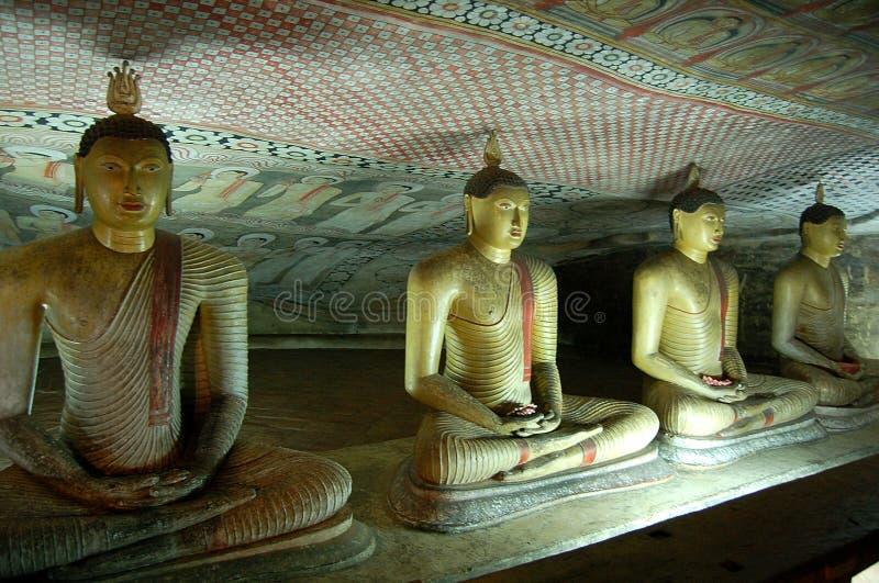 Tempel von Dambula lizenzfreie stockfotos