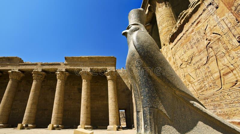 Tempel von Edfu lizenzfreies stockbild