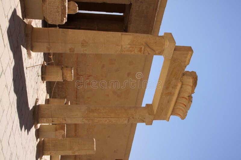 Tempel von Hatschepsut lizenzfreies stockfoto