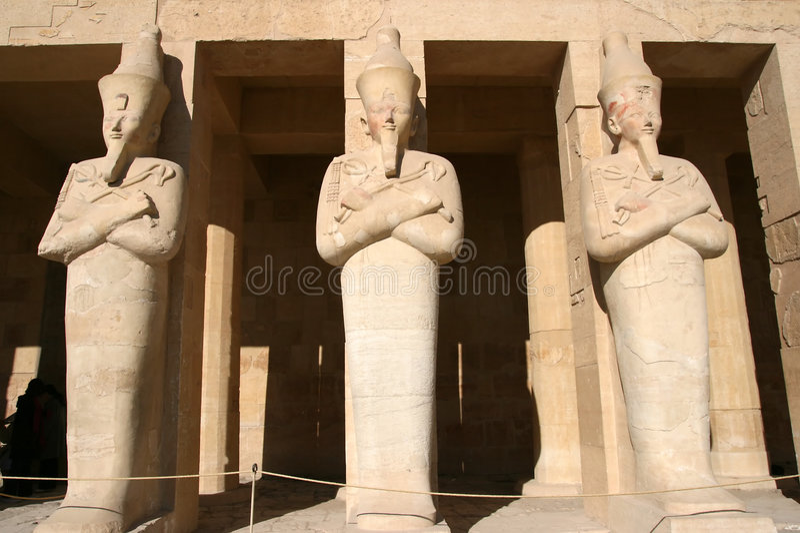 Tempel von Hatshepsut (Ägypten) lizenzfreies stockbild
