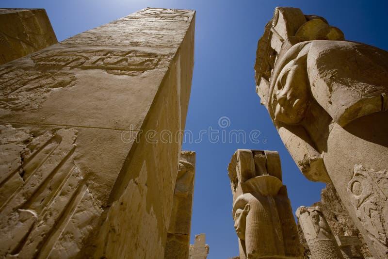 Tempel von Hatshepsut Ägypten lizenzfreies stockfoto