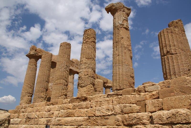 Tempel von Hera lizenzfreies stockbild