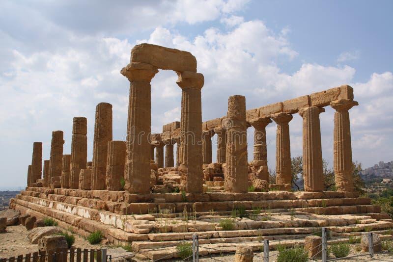 Tempel von Hera lizenzfreies stockfoto