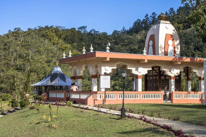 Tempel von ISKON stockbild