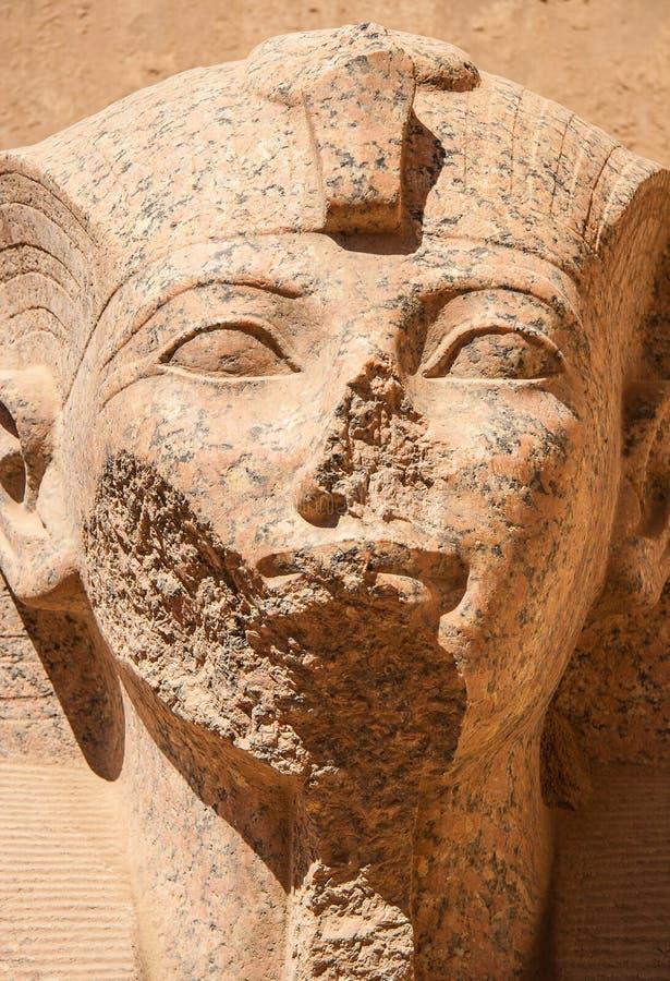Tempel von Karnak, Ägypten stockfotos