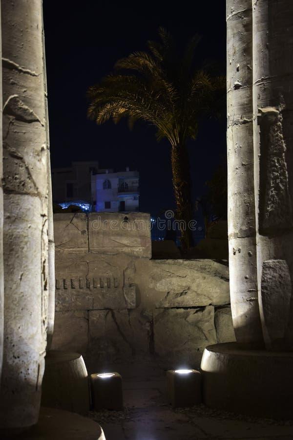 Tempel von Luxor lizenzfreie stockbilder