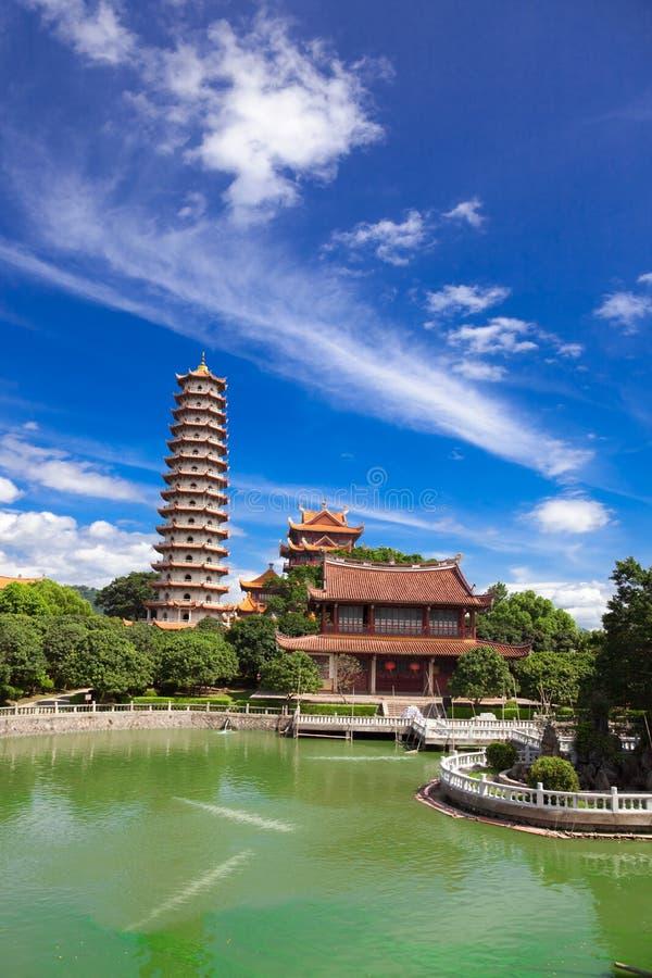 Tempel von Xichan in Fuzhou lizenzfreies stockfoto