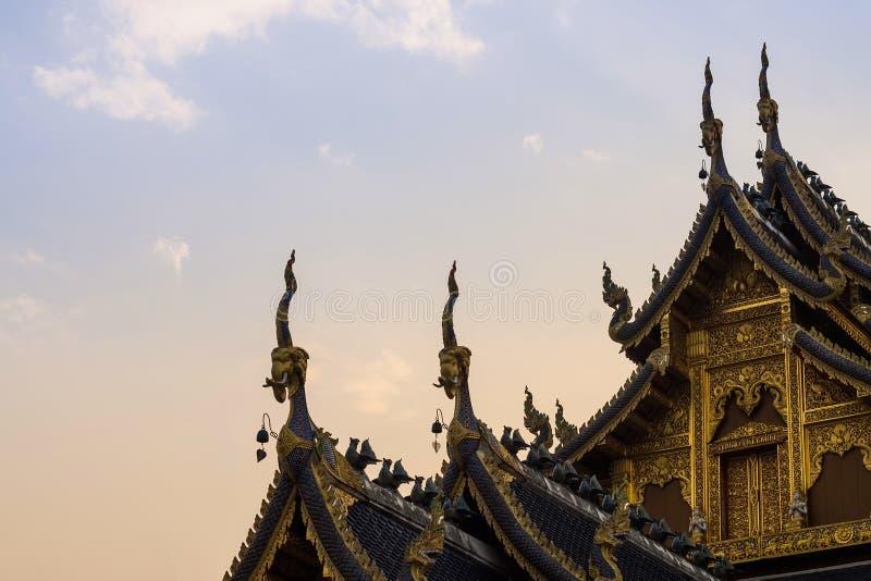 Tempel wat verbod-hol stock fotografie