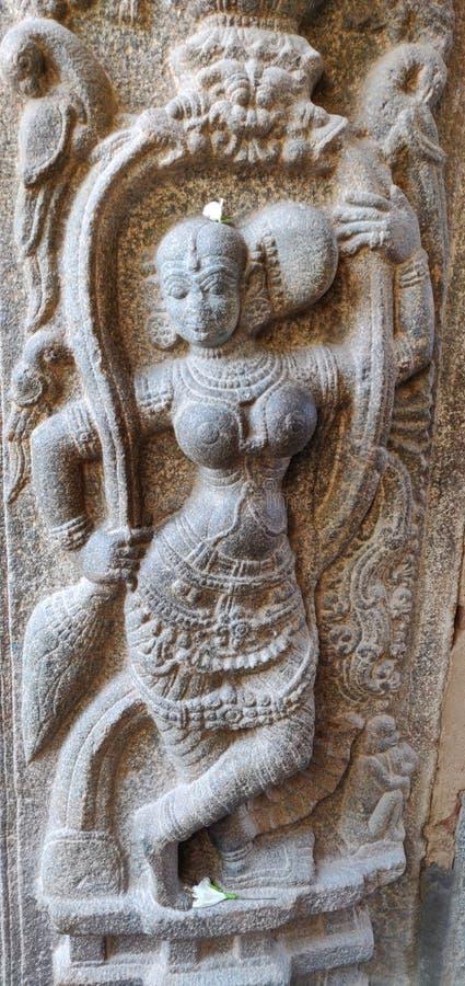Tempelarchitektur von Tempeln in Kolar-Region von Karnataka lizenzfreies stockbild