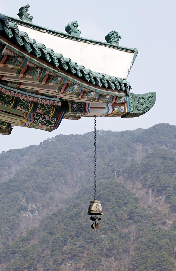 Tempeldachgesims lizenzfreies stockfoto