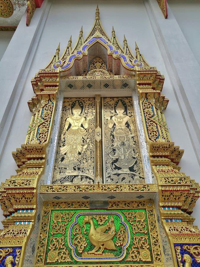 Tempelfönster royaltyfri fotografi