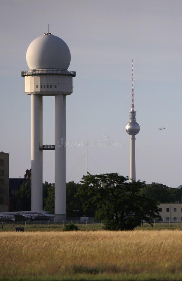 Tempelhofer Feld Berlin fotografia stock