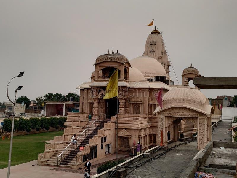 TempelIndien ludhiana punjab arkivfoto