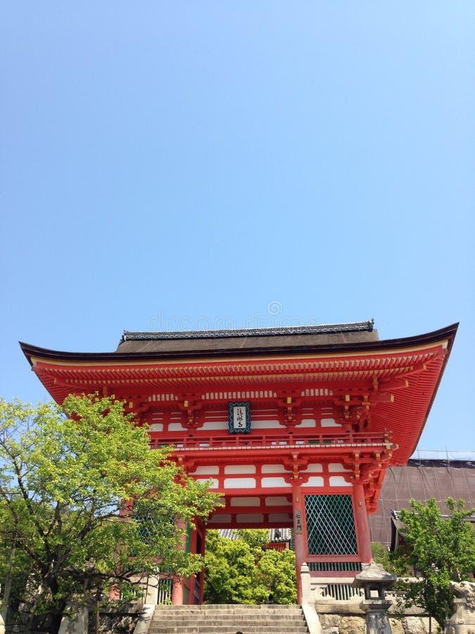 Tempelingang stock afbeelding