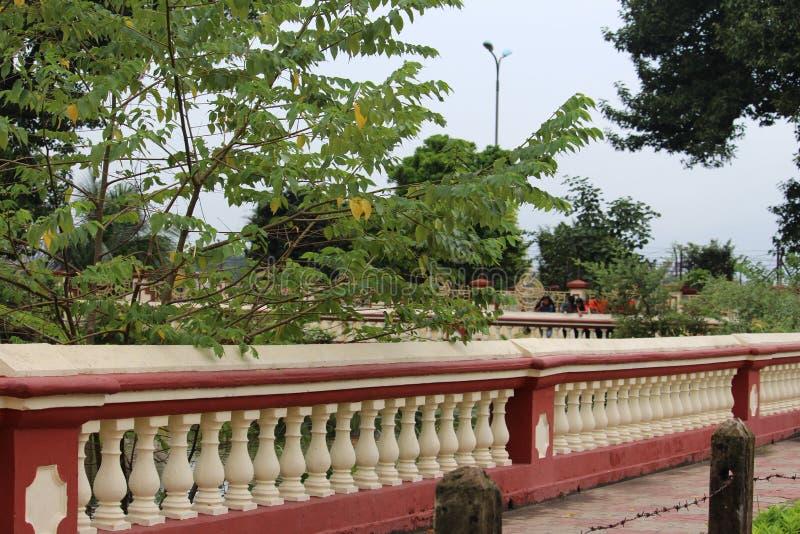 tempelkant royalty-vrije stock afbeelding