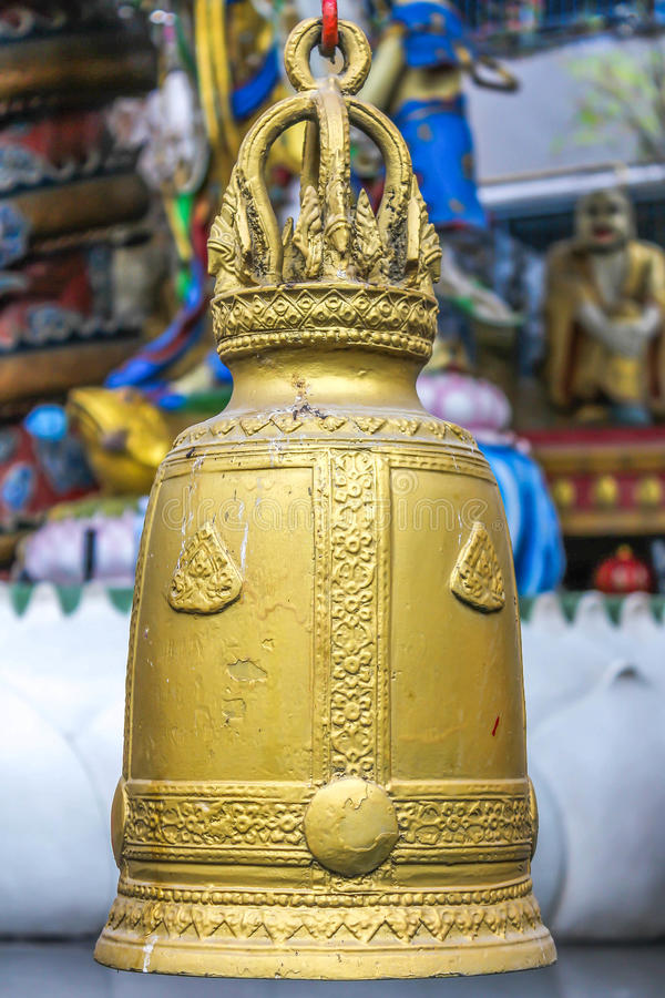 Tempelklok stock foto