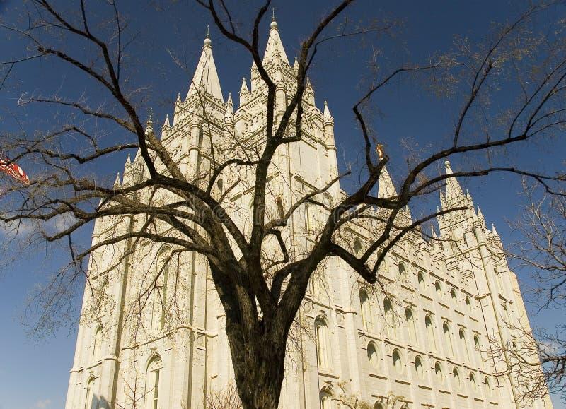 Tempelquadrat - Salt Lake City lizenzfreies stockbild