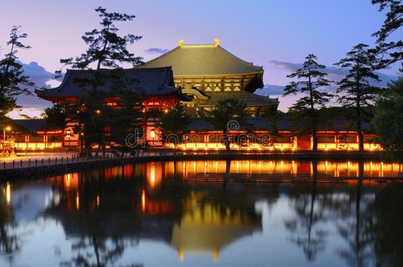 tempeltodaiji royaltyfria bilder