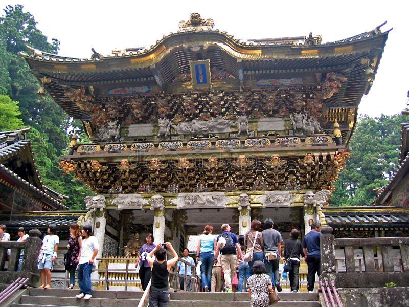 tempeltoshogu royaltyfri fotografi