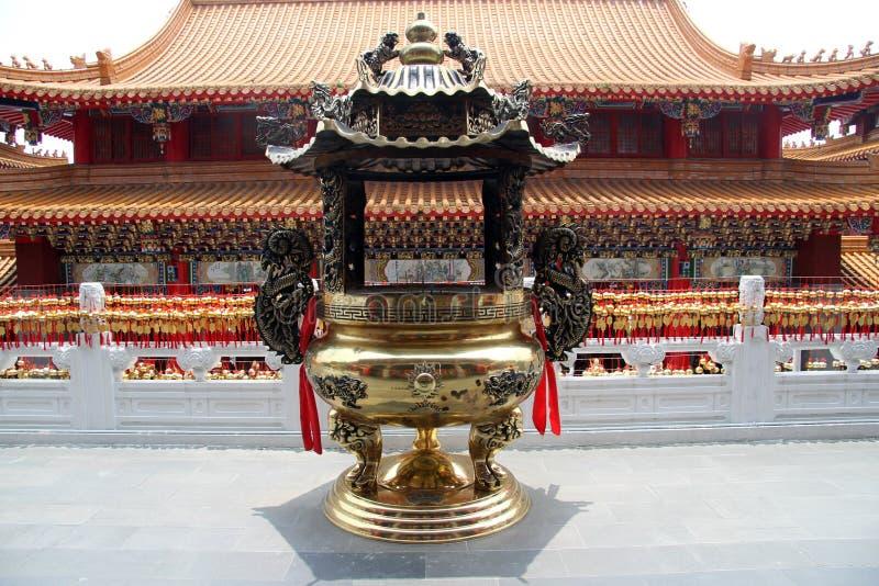 tempelwenwu royaltyfri fotografi
