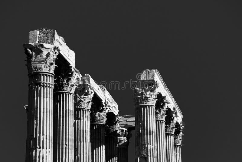 tempelzeus royaltyfri fotografi
