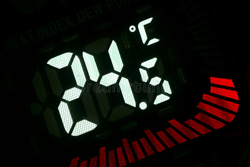 temperatura zdjęcia royalty free