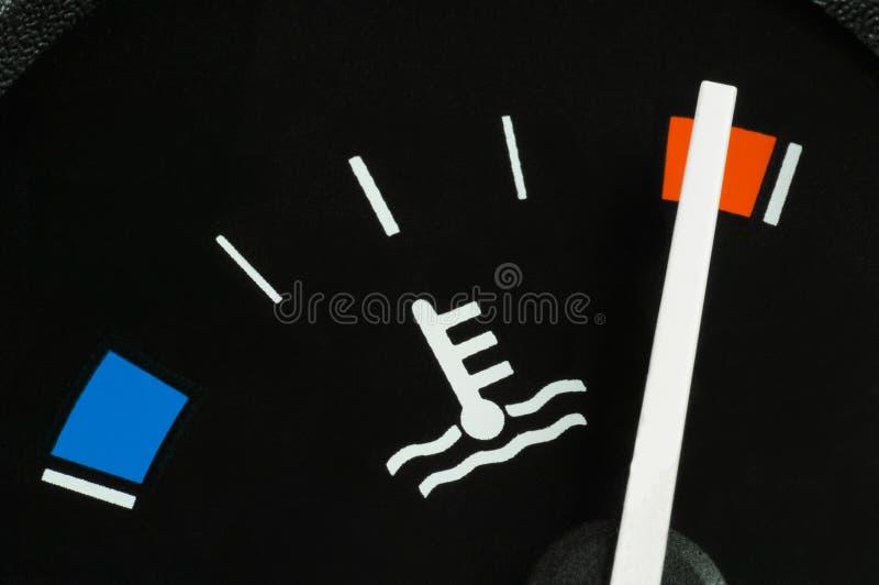 Temperatura de água refrigerando imagem de stock