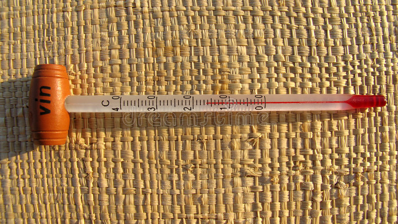 temperatura prawa zdjęcie royalty free