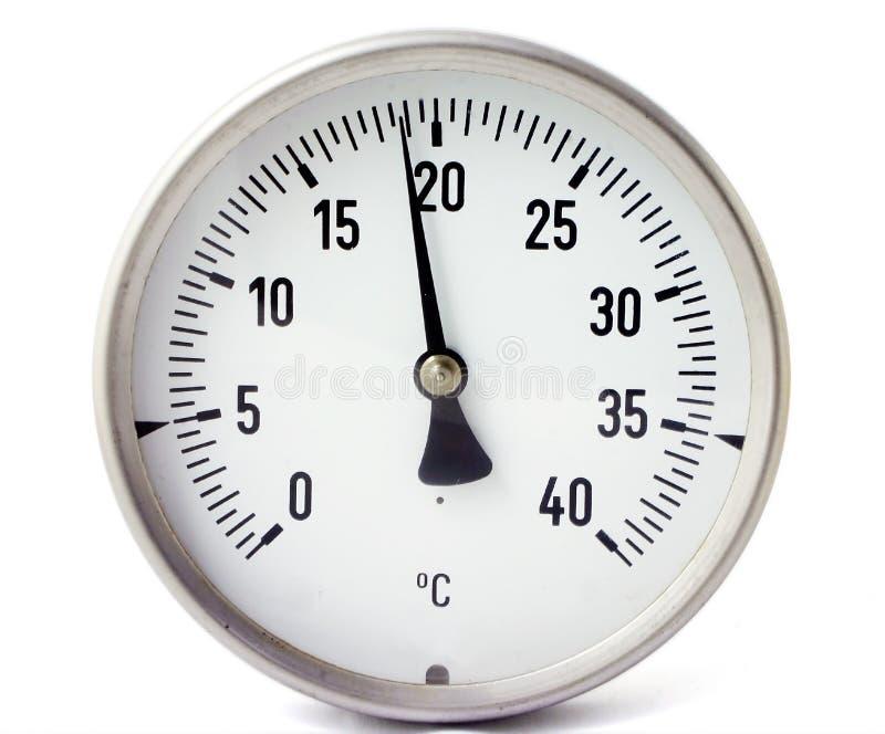 Temperature gauge stock images