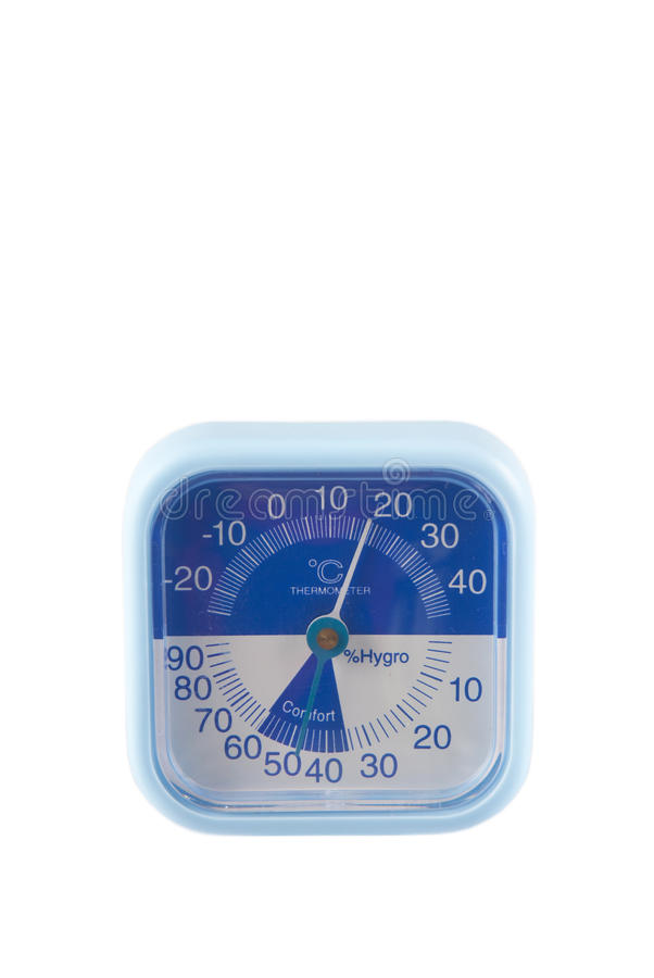 Download Temperature And Humidity Meter Stock Image - Image: 12289973