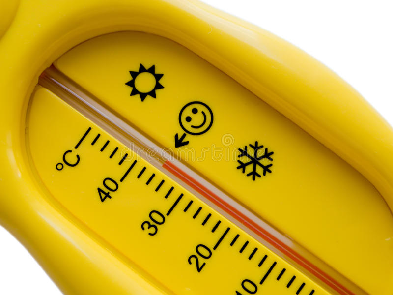 Temperature Thermometer Of Cold Heat Healthcare Stock Photo