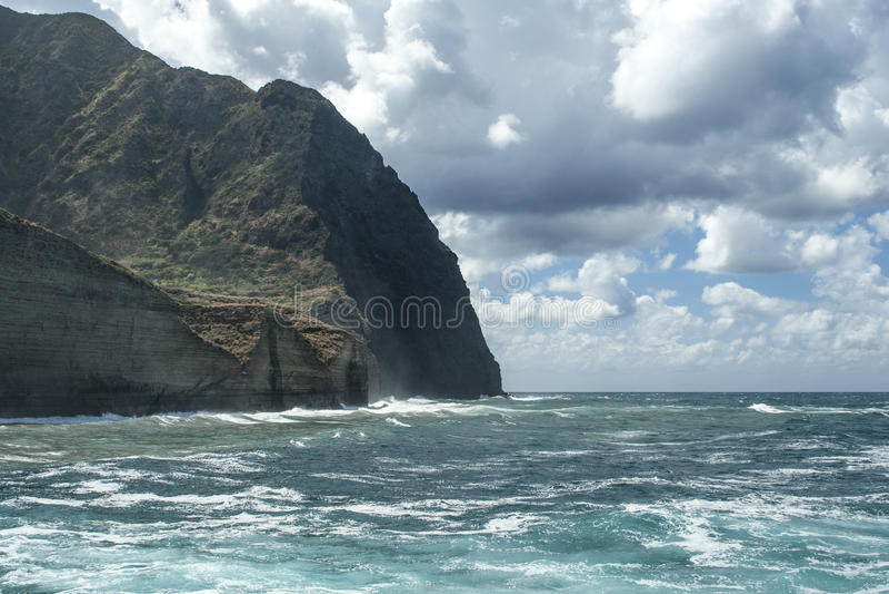 Tempest in Pollara stock image