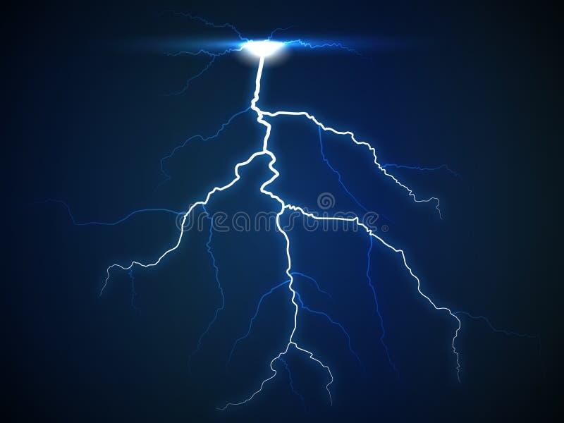 Tempesta blu immagini stock libere da diritti