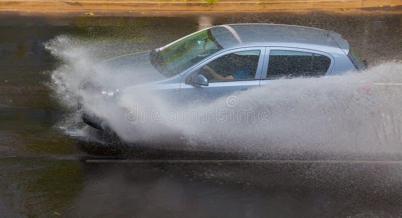 Tempesta della pioggia fotografie stock libere da diritti