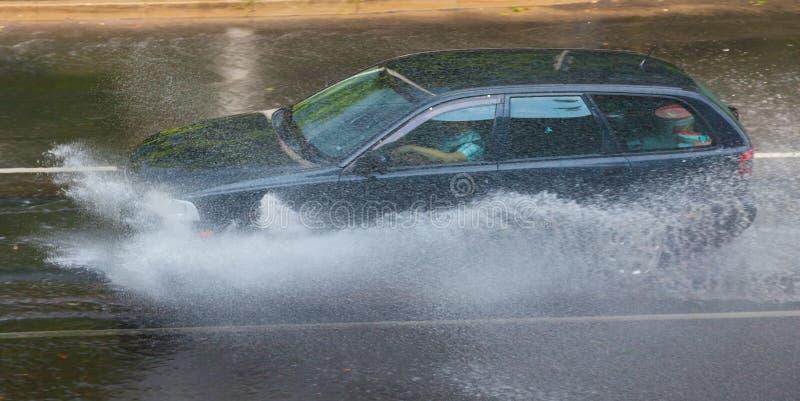 Tempesta della pioggia immagini stock libere da diritti