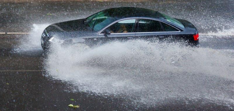 Tempesta della pioggia fotografia stock libera da diritti
