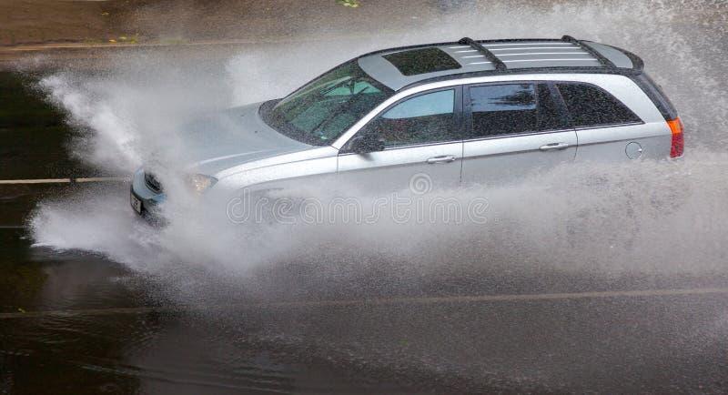 Tempesta della pioggia immagini stock
