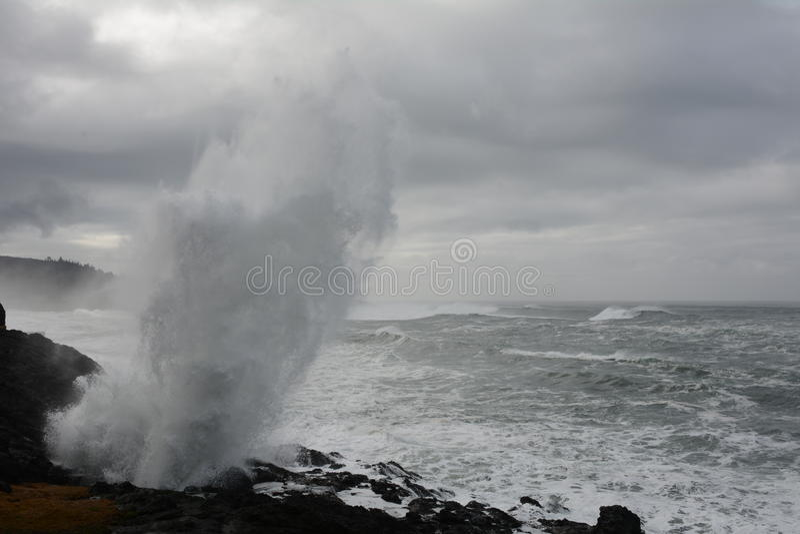 Tempesta di inverno immagini stock libere da diritti