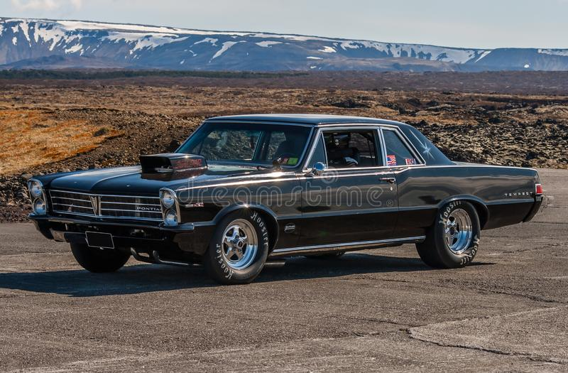 Tempesta 1965 di Pontiac fotografie stock libere da diritti