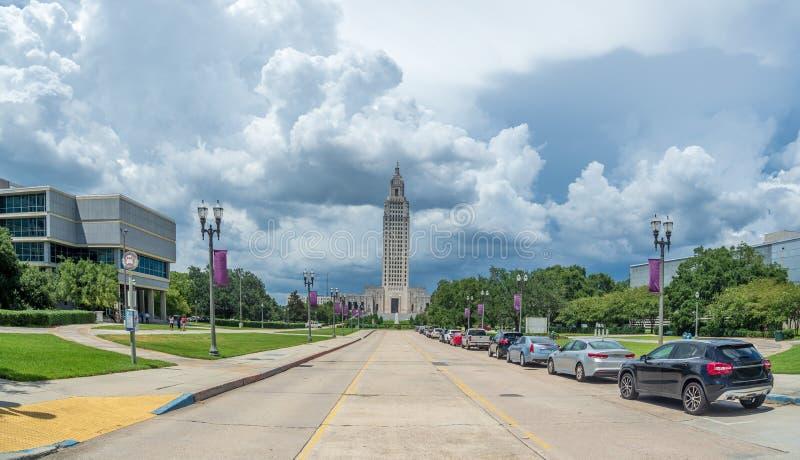 Tempesta politica in Luisiana fotografia stock