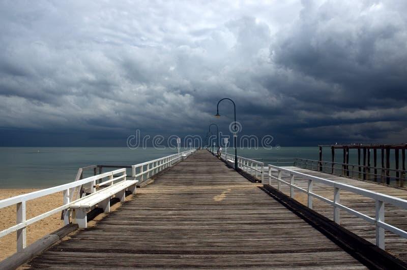 Tempesta ricevuta fotografia stock