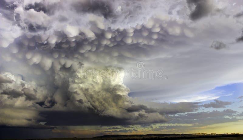 Tempesta violenta immagini stock