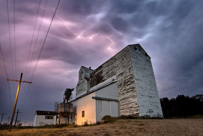 Tempestade Canadá do relâmpago fotos de stock royalty free